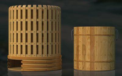 Bamboo wasmachine